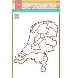 PS8059 Marianne Design Stencil Nederland