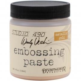276916 Studio 490 Embossing Paste Gold