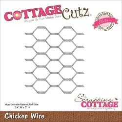 "519968 Cottagecutz Elites Die Chicken Wire 3.4""X3"""