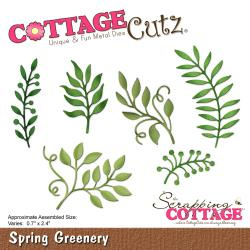 "303328 CottageCutz Elites Die Spring Greenery, 0.7"" To 2.4"""