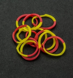 45053 - Band-it - Elastieken Yellow/Red 600pcs