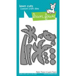 LF1435 Lawn Cuts Custom Craft Die Palm Trees
