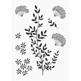 "CS474 My Favorite Things Clear Stamps 3""X4"" Dandelion Greenery"