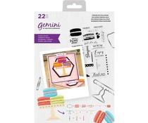 GEM-STD-MARV  Gemini Marvellous Macarons Stamp & Die