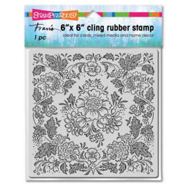 663641 Stampendous Cling Stamps Blooming Tapestry