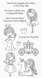 CS-535 My Favorite Things Pretty Princess Clear Stamps