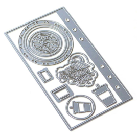 EC1768 Elizabeth Craft Metal Die Sidekick Essentials 4