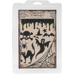 078198 Idea-Ology Cling Foam Stamps Halloween 11/Pkg