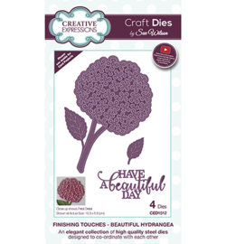 CED1512 The Finishing Touches Collection Beautiful Hydrangea