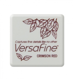 VF-SML-011 VersaFine klein Inkpad-Crimson Red