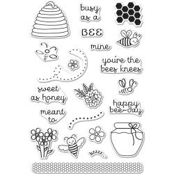 """HA-CM146 Hero Arts Clear Stamps Busy As A 4""""X6"""""""