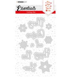 SL-ES-CD60 - SL Cutting Die Christmas Merry Christmas ENG 1 Essentials nr.60