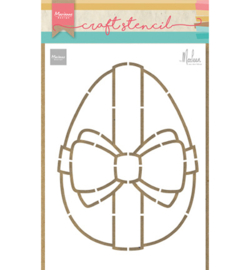 PS8055 Marianne Design stencil Easter egg by Marleen