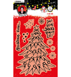 ABM-ES-STAMP82  ABM Clear Stamp Christmas Tree Essentials nr.82