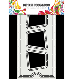 470.713.869 Dutch DooBaDoo Card Art Slimline Ticket