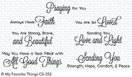 CS-352 My Favorite Things Beautiful Blessings 2 Clear Stamps