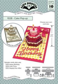KBR1028 Karen Burniston Dies  Cake Pop-Up