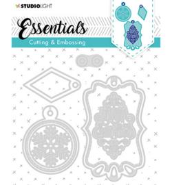 STENCILSL321 SL Cutting & Embossing Die Label Essential, nr.321