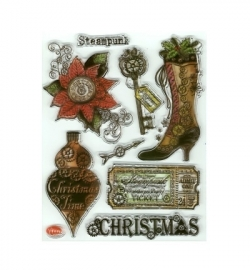 7012 - Clear Stamps - Weihnachts SteamPunk