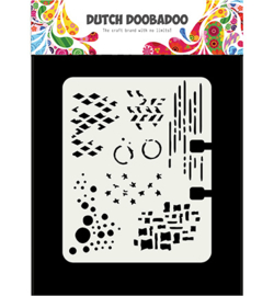 470.715.900 Dutch Mask Art Rollerdex pattern