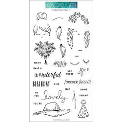 "10586 Concord & 9th Clear Stamps Fashion Wear 4""X8"""