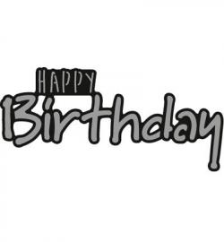 CR1320 - Craftables - Happy BIRTHDAY