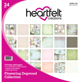 """303588 Heartfelt Creations Double-Sided Paper Pad Flowering Dogwood 12""""X12"""""""