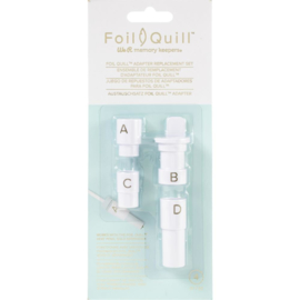 661023 We R Memory Keepers Foil Quill Adapter Kit 4/Pkg