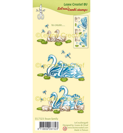 557323 Leane Creatief Zwanen familie