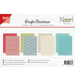 6011/0635 Papier Set Noor Design Bright Christmas