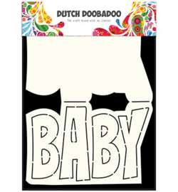 470.713.647 Dutch DooBaDoo Dutch Card Art Text  'Baby'