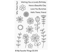 CS-310 My Favorite Things Love Buds Clear Stamps