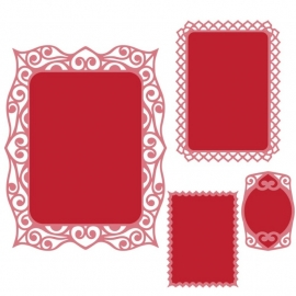 S4466 Spellbinders Nestabilities Die Labels 40 Decorative Accents
