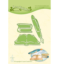 455589 Lea'bilitie Cutting/Emb. Books & Pen