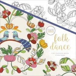 271690 Kaisercraft Coloring Book Folk Dance
