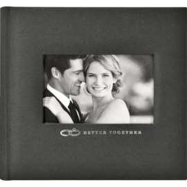 "549137 MBI 2-Up Photo Album Better Together 9.5""X8.5"""