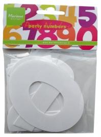 CA3110 Decoration Party Numbers Medium