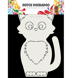 470.713.767 Dutch DooBaDoo Card Art Kat A5
