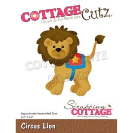 "CC855 CottageCutz Dies Circus Lion 2.2""X2.2"""