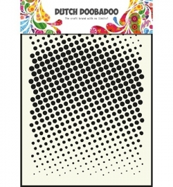 470715004 Dutch Doobadoo - Mask Art Stencils Faded Dots