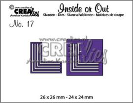 115634/1017 Crealies Inside or Out hoekstansen K CLIO