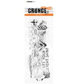 STAMPSL494 Studio Light Clear Stamp Grunge Collection nr.494
