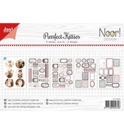 6011/0422 Noor Labelvellen Purrfect Kitties