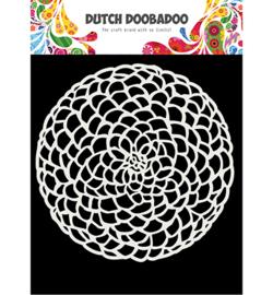 470.715.617 Dutch DooBaDoo  Mask Art Flower circle