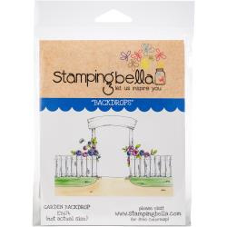 456592 Stamping Bella Cling Stamps Garden Backdrop