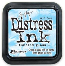 TIM27188 Distress Inkt Pad Tumbled Glass