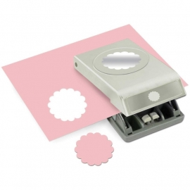 54-30095 Nesting Paper Punch Scallop Circle 2""