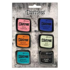 TDZS73468 Ranger Distress Pin-Carded Distress Pin Set 4