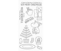 BB-86 My Favorite Things Merry Christmoose Clear Stamps