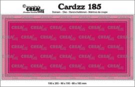 CLCZ185 Crealies Cardzz Slimline E Stippenlijn